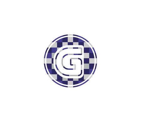 G Alphabet Music Logo Design Concept Çizim