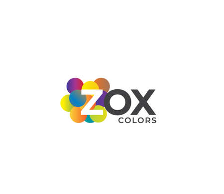 ZOX Colors Company Logo Design Concept