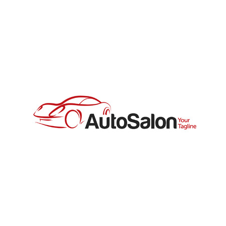 Car Auto Salon icon Template 版權商用圖片 - 36068637