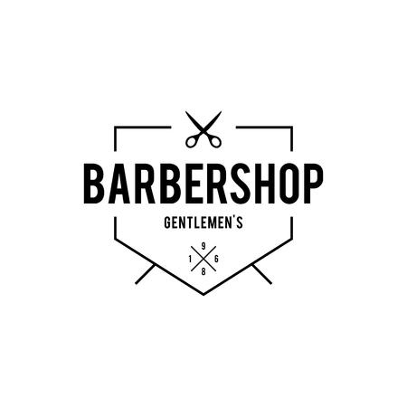 barber shop: Barber shop vintage retro