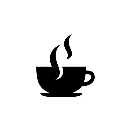 long bean: Coffee Cup vector icon Illustration