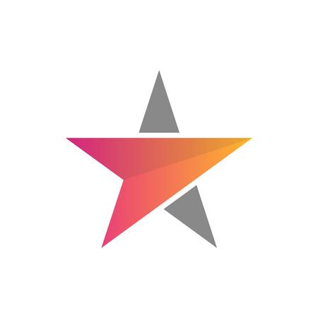 Elegante símbolo de estrella