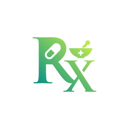 Pharmacy Logo Template Design Vector. Pharmaceutical Symbol