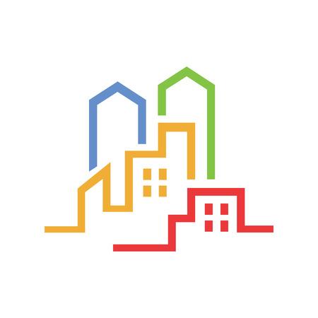 Urban Real Estate Illustration