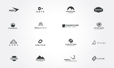 reliance: Minimal design collections concepts. Creative design vector illustration Illustration