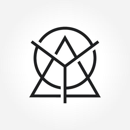solid: Triangle Symbol Design