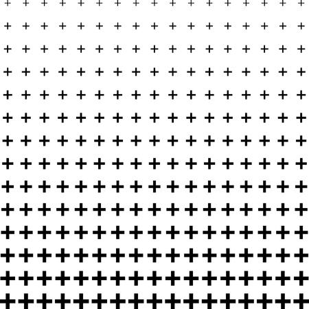 Más signo medio tono patrón de fondo