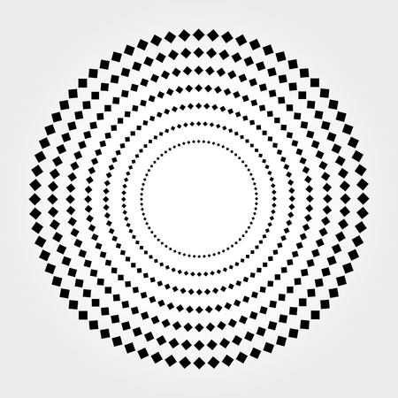 Halftone Vector illustration