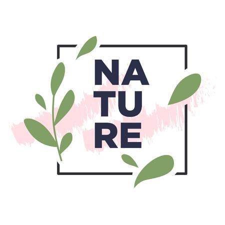 Nature Botanical illustration simple design