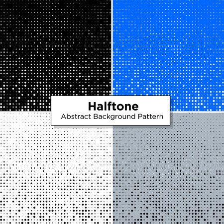 Halftone Abstract Scattered pattern dots