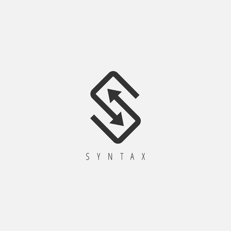 Abstract Sync Letter S Logo Symbol