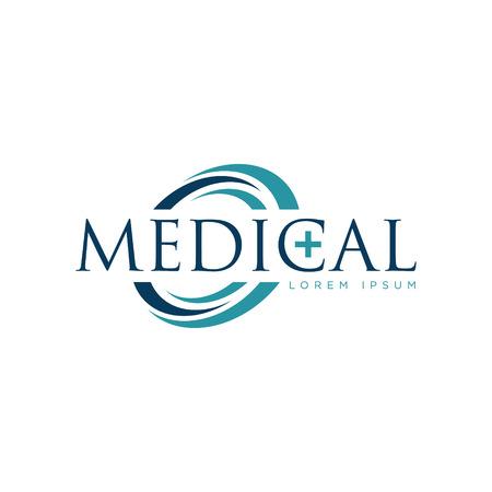 Medical Logo Design Symbol Icon Vectores