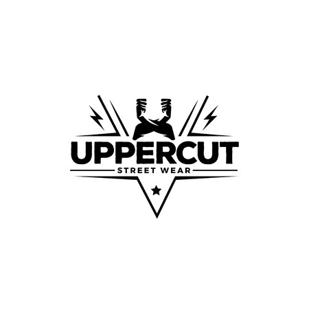 Uppercut Street Wear Logo Symbol Badge Illustration
