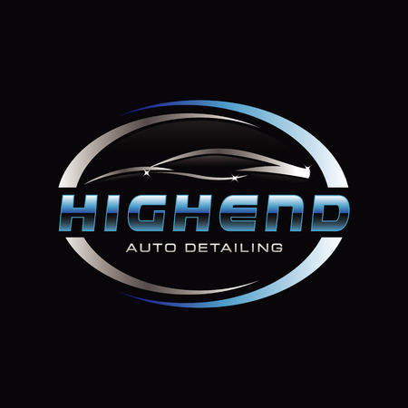 Car Auto Detail Logo Symbol Illustration