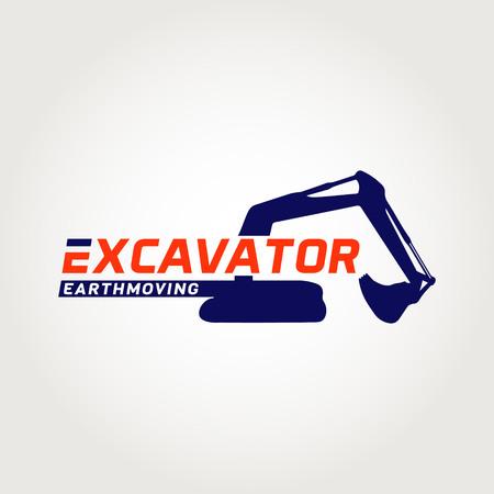 Earth Moving Logo Symbol Icon Vettoriali