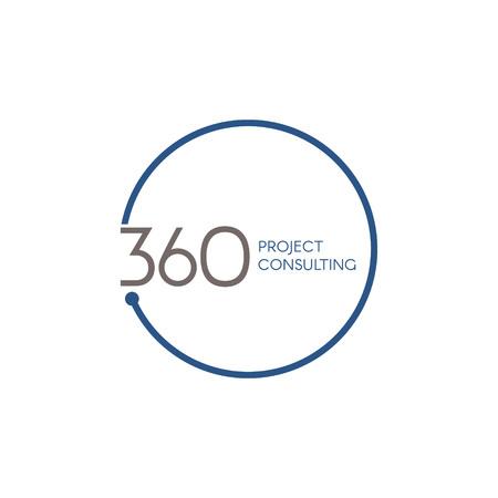 360 Consulting Logo Symbol