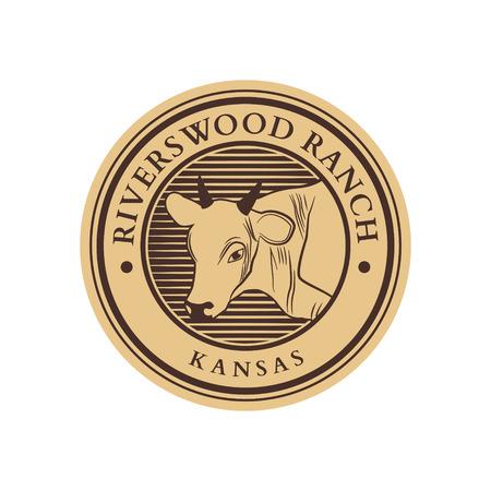Ranch Logo Design Emblem Badge Symbol
