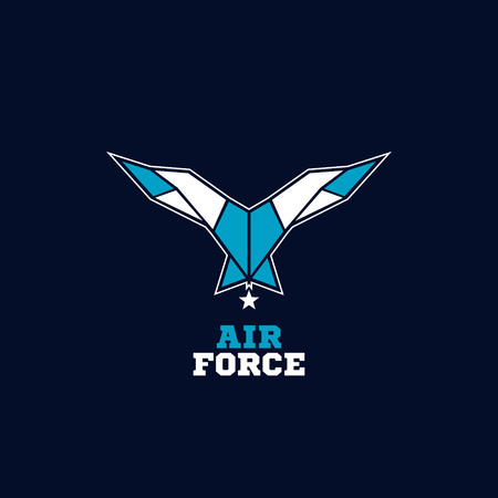 Air Force Wings Logo Sign Symbol Icon