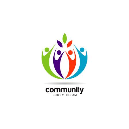 Colorful Community Logo Symbol