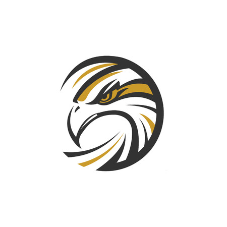 Circle Eagle Sea Hawk Logo Symbol