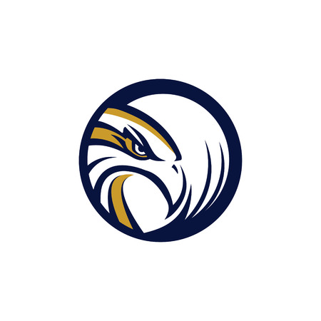Circle Eagle Hawk Logo Symbol