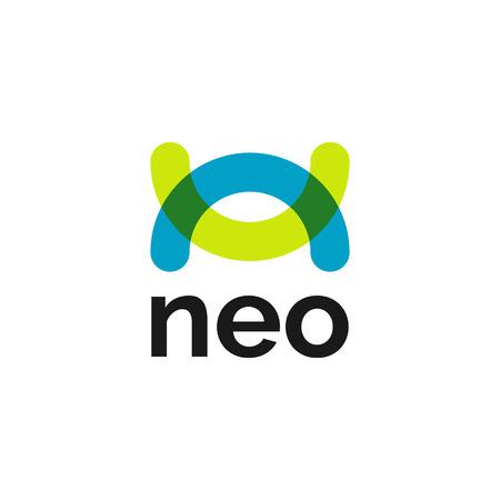 Creative Neo-Abstract Vibrant Logo Symbol