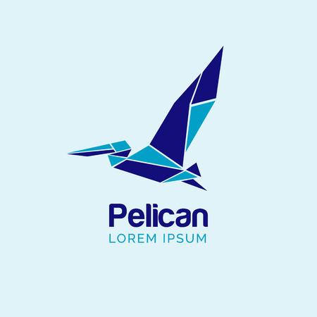 Pelican Logo Design Sign Symbol Icon