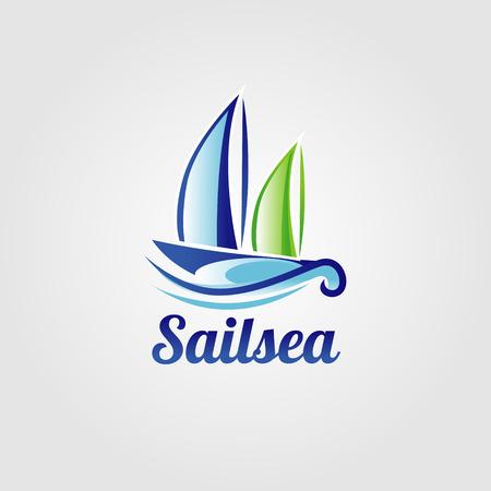 Sail Sea Boat Logo Sign Symbol Icon