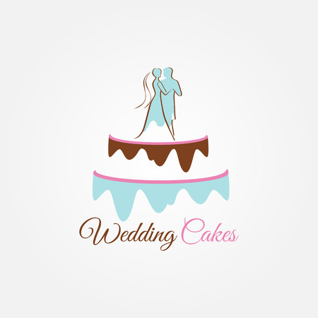 Wedding Cakes Logo Sign Symbol Icon