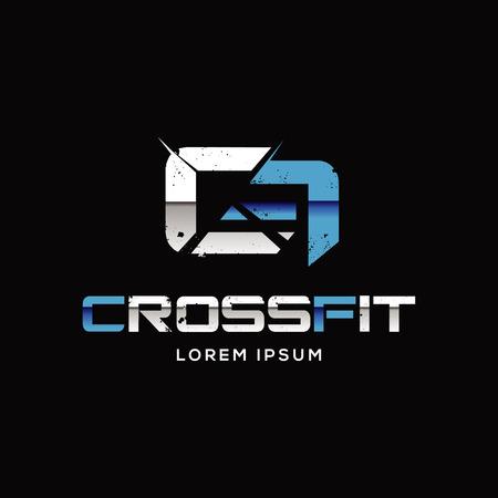 Crossfit Sport Logo Sign Symbol Icon