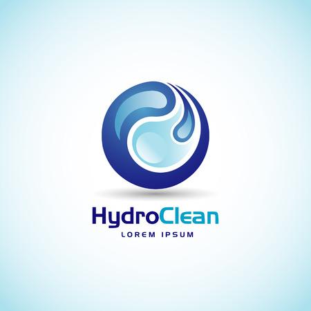 Hydro Clean Logo Sign Symbol Icon
