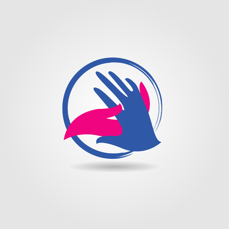Hand Shake Social Charity Cooperation Logo Sign Symbol Icon Stock Vector - 124865617