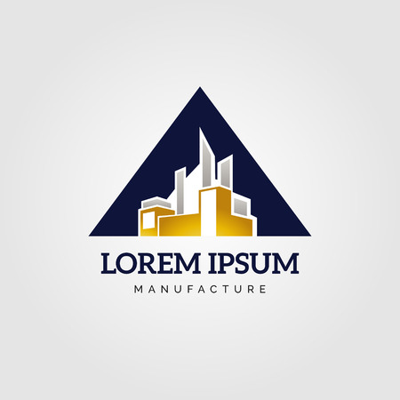 Industry Manufacture Logo Sign Symbol Icon Illustration