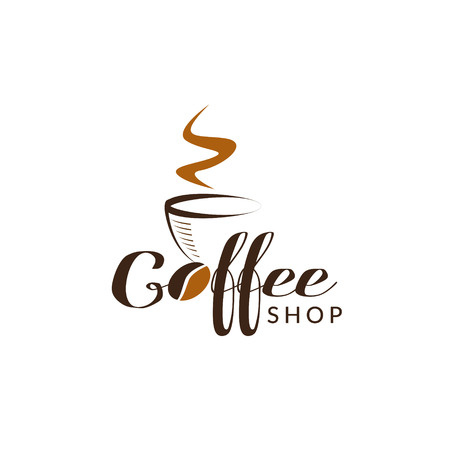 Coffee Shop Logo Sign Symbol Icon Stock Vector - 124865588