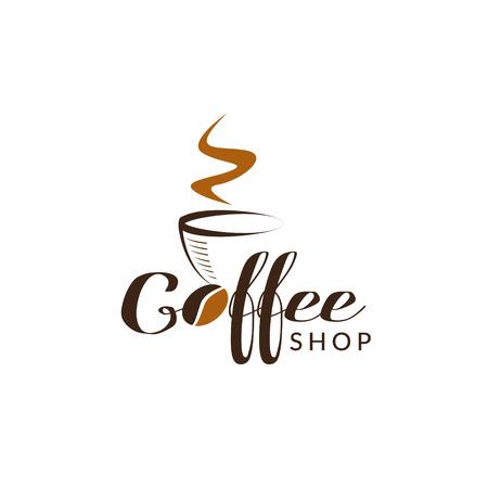 Coffee Shop Logo Sign Symbol Icon