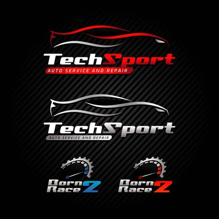 Automotive Car Logo Business Set