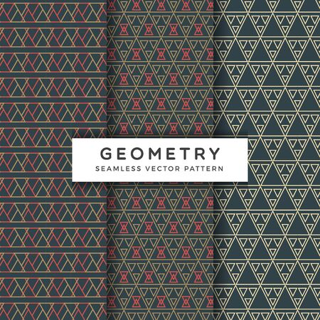 Abstract geometric Seamless Vector Pattern