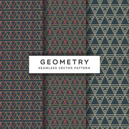 Abstract geometric Seamless Vector Pattern 免版税图像 - 129152749