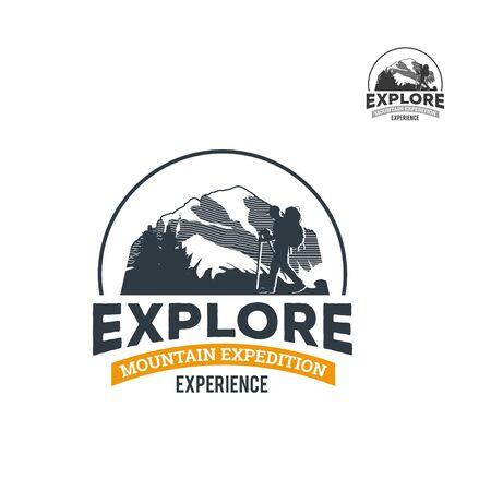 Wild Nature Exploring Logo