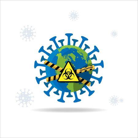 Corona Virus Disease Sign Logo Symbol Illustration 免版税图像 - 148123733