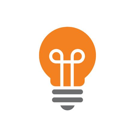 Nice and Clean Vector Light Bulb Illusztráció