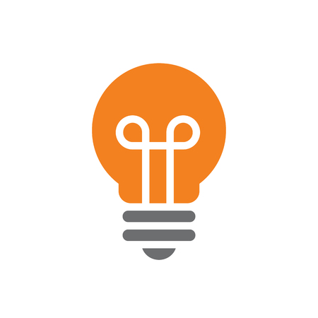 Nice and Clean Vector Light Bulb Illustration