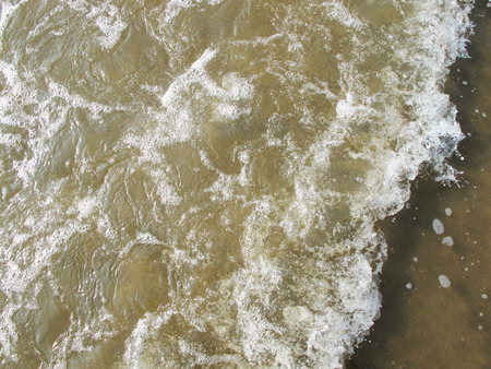 Salt Water, Soft Beach Waves in Asia