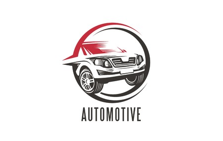 car wash: Car vector logo. Transportation business symbols, icons and emblems. Car care logo. Automobile icon. Illustration