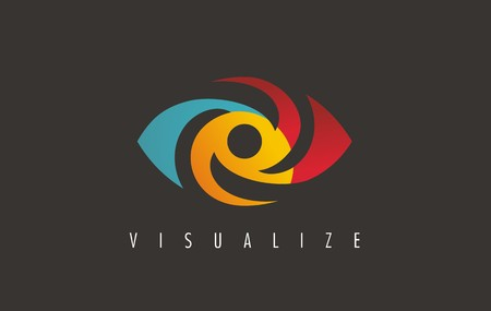Visual media related icon , symbol, icon and sign. Vector of eye. Eye icon design. Media sign. Visual symbol.