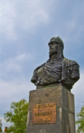 Monument of Alexander Nevsky photo