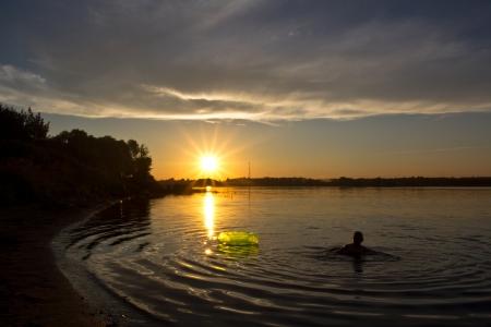 Rivers  Soga and Pertomka Stock Photo - 14676230