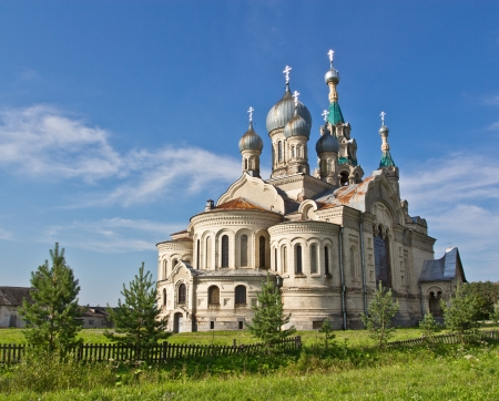 Temple of the Divine Savior of the image in the village Kukoba