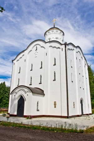 Temple of the Iberian Mother of God Monastery of St. Nicholas Babaevskii Stock Photo - 14753241