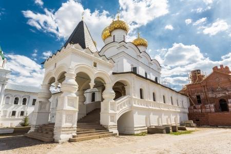 Trinity cathedral church. Ipatiev Monastery, Kostroma, Russia Stock Photo